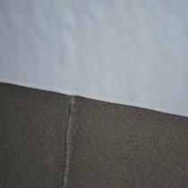 Wewnętrzna wykładzina rury nałożona jako pojedyncza, niespływająca warstwa pokrywająca obwodowy ścieg spoiny