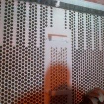 Płaszcz rury kondensatora naprawiony z użyciem materiału Belzona 1111 (Super Metal) do uzupełnienia ubytków metalu oraz powłoki Belzona 1331