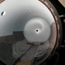 Autoklaw eksploatowany w wysokiej temperaturze zabezpieczony przed korozją z użyciem materiału Belzona 1593