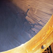 Materiał Belzona 1812 (Ceramic Carbide FP) zastosowany w rurociągu pyłu węglowego dla zabezpieczenia przed ścieraniem