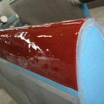 Zastosowanie materiału Belzona 2121 (D&A Hi-Coat Elastomer) dla zabezpieczenia przed ścieraniem
