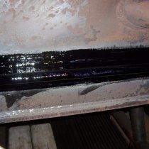 Dylatacja kondensatora uszczelniona z użyciem materiału Belzona 2121 (D&A Hi-Coat Elastomer)