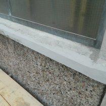 Beton naprawiony z użyciem lekkiego materiału Belzona 4141 (Magma-Build)