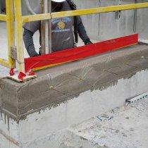Ściana odbudowana z użyciem produktu Belzona 4154