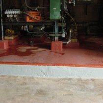Odbudowa uszkodzonej powierzchni z użyciem materiału Belzona 4181 (AHR Magma-Quartz)