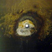 Zbiornik z wykładziną ebonitową z miejscowym uszkodzeniem spowodowanym oddziaływaniem kwasu
