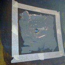Naprawa wykładziny z użyciem materiału Belzona 4301 (Magma CR1 Hi-Build)