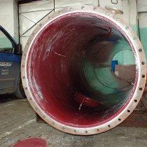 Produkt Belzona 4331 (Magma CR3) zastosowany w celu zabezpieczenia reaktora przed oddziaływaniem substancji chemicznych