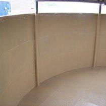 Trwałe zabezpieczenie ścian zbiornika z użyciem materiału Belzona 5811 (Immersion Grade)