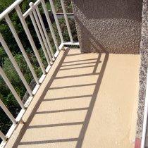 Naprawiony balkon z powłoką Belzona 5811 (Immersion Grade) trwale zabezpieczony przed oddziaływaniem wody