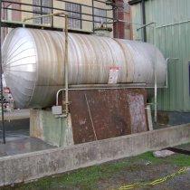 Uszkodzenia dodatkowej strefy bezpiecznego przechowywania substancji chemicznych w elektrowni