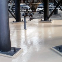 Dodatkowa strefa bezpiecznego przechowywania substancji chemicznych zabezpieczona z użyciem materiału Belzona 5811 (Immersion Grade)