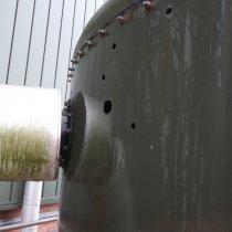 Perforacje zbiornika buforowego szlamu