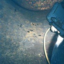 Nieszczelny zbiornik oczyszczania wody ciepłej