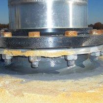Materiał Belzona 8211 (HP Anti-Seize) można także stosować do zabezpieczania przeciwkorozyjnego elementów gwintowanych