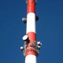 Pasy przeszkodowe komina wykonane powłoką Belzona 5111