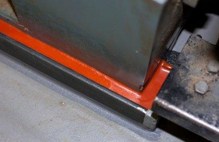 Materiał Belzona 7111 podczas utwardzania